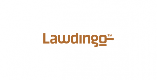 Lawdingo, online legal advisers lawyers network, logo design by Utopia branding agency