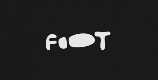 Foot, logotype, word mark, footwear firm logo design by Utopia branding agency