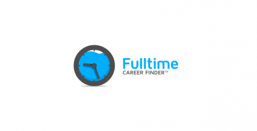 Full time, career finding, employment website application logo design by Utopia branding agency