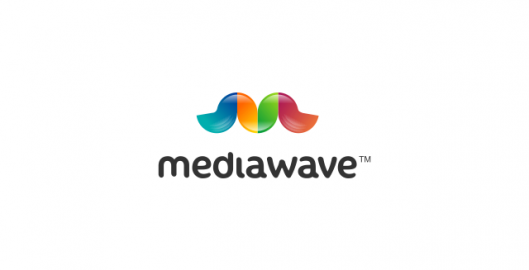 Media Wave, advertising agency logo design by Utopia branding agency