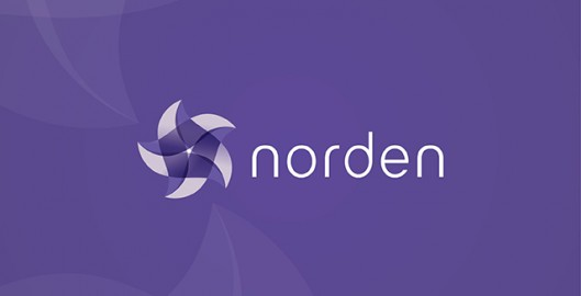 Norden, Scandinavian, experimental concept, logo design by Utopia branding agency