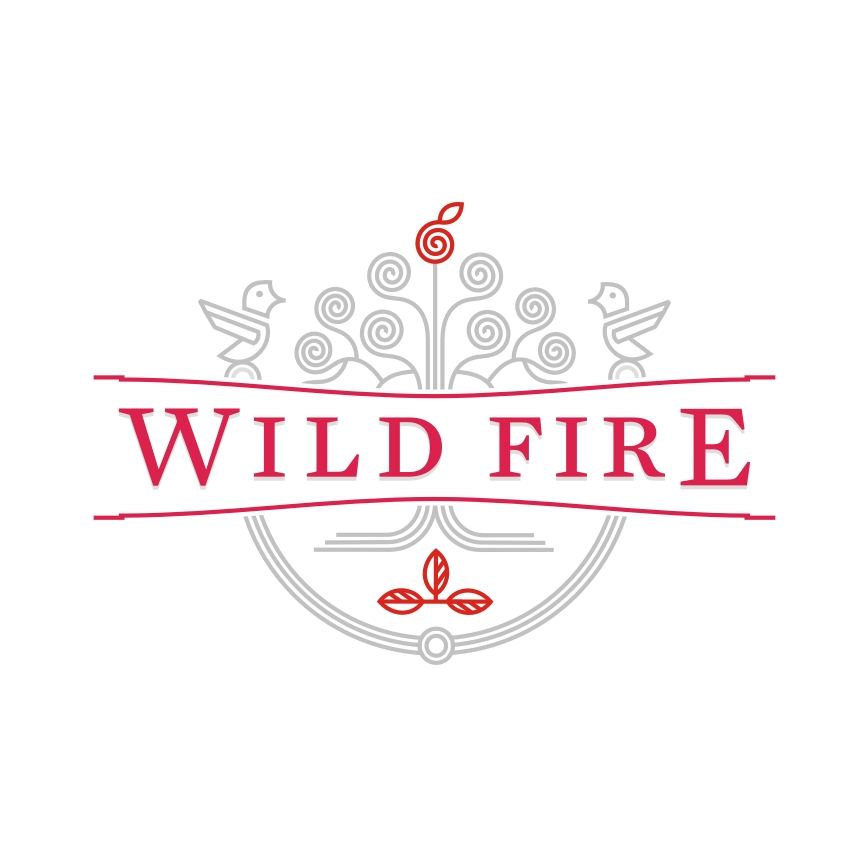 Wild Fire rebranding: logo redesign, label redesign, packaging redesign, design by Utopia