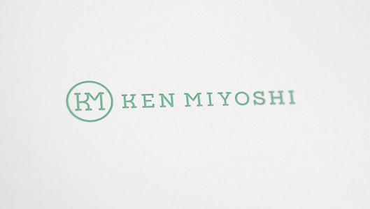 Ken Miyoshi dermatologist doctor logo design