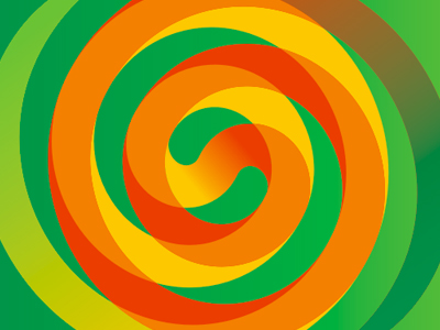 Mello juice logo design, pattern, sub branding design by Alex Tass