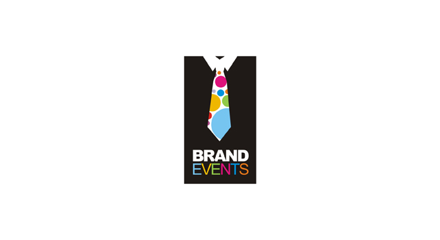 Brand Events - corporate, business, party, parties, events organizer, logo design by Utopia branding agency