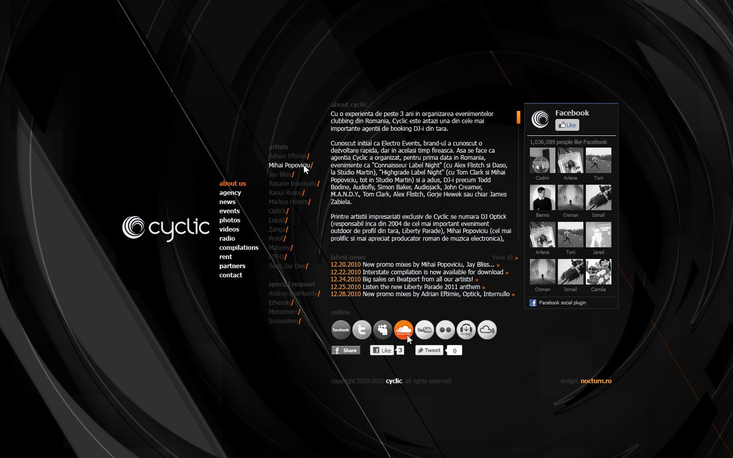cyclic web design website - Home Design Site