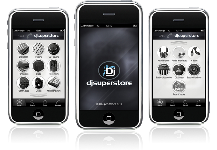 DjSuperStore iPhone application design | on ecommerce design, mobile optimization, development design, mobile website development, project management design, movie design, travel design, mobile system architecture, mobile user interface, css design, operating system design, business design, mobile game development, design design, ui ux design, photography design, web design, mobile development architecture, mobile management, ios design,