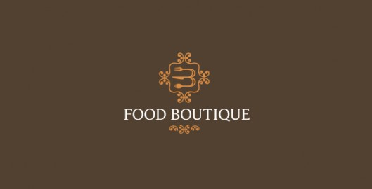 Food boutique focused on premium, luxury foods, logo design by Utopia branding agency