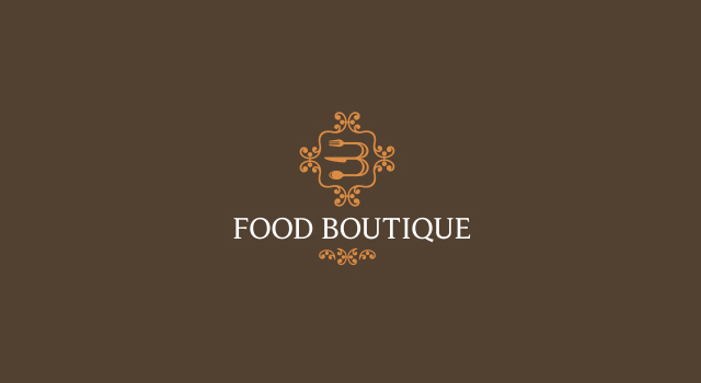 food boutique logo design |