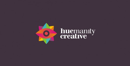 huemanity creative, design studio, advertising agency, colorful, logo design by Utopia branding agency
