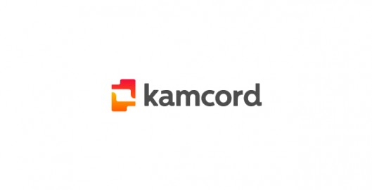 kamcord recording technology for mobile game developers logo design by Utopia branding agency