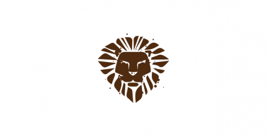 Lion, lion head, lion crest, logo design symbol for sale, design by Utopia branding agency