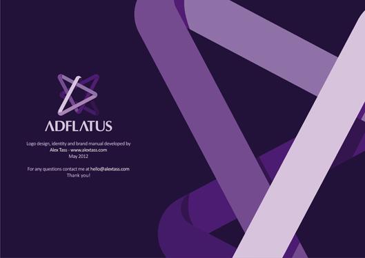 adflatus interior design logo design identity design branding manual 14 cover