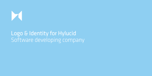 Hylucid Branding Project. Logo &amp; Identity Design For Software Developers