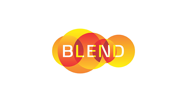 Blend consulting, management consulting company, logo design and stationery design by Utopia branding agency