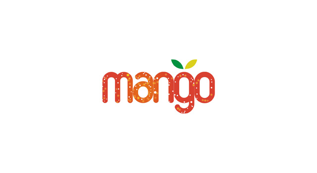 mango, logotype, word mark, logo design by Utopia branding agency