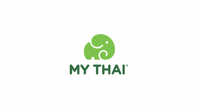 My Thai, fast food restaurant chain logo design by Utopia branding agency