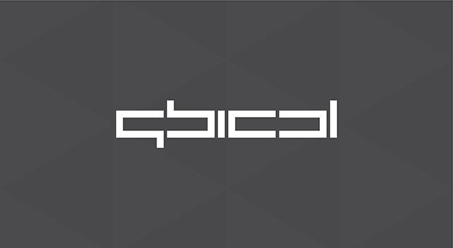 qbical, experimental concept for architecture, interior design studio, firm, company, logo design by utopia branding agency