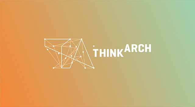 thinkarch logo design
