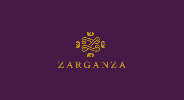 Zarganza, women fashion label logo design by Utopia branding agency