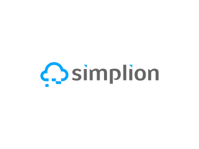 Simplion, cloud technology consultancy logo design