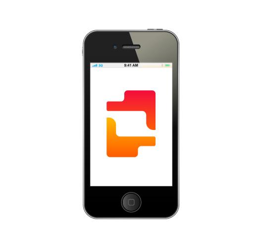 Kamcord, logo design for recording application technology for mobile game developers