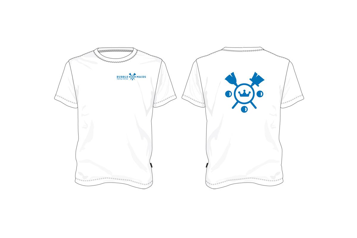 Bubble Maids T-shirt design by Utopia