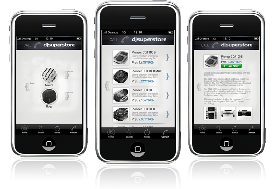 djsuperstore-iphone-mobile-app-application-interface-design-subcategory-product-page-design-by-Utopia