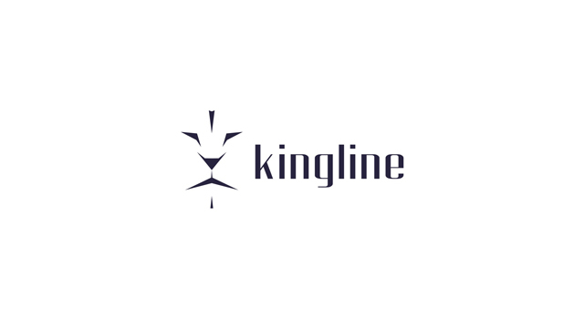 kingline, king, lion, lions, feline, lion king, purple, royal, logo design by Utopia branding agency