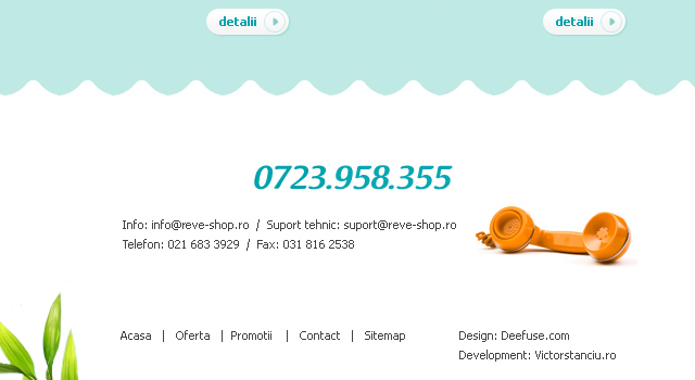 Web design (layout and implementation) for an online shop selling pools, sauna, spa and accessories