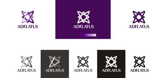 02 adflatus interior design logo design variations