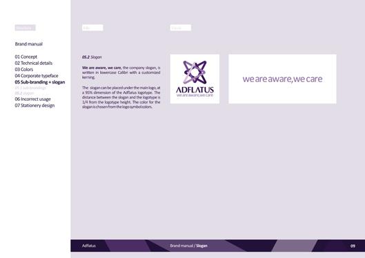 adflatus interior design logo design identity design branding manual 09 slogan
