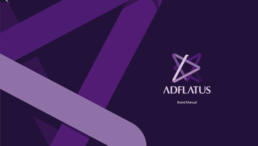 Adflatus case study: logo design, stationery design, branding manual for interior design studio