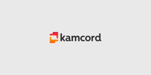 Kamcord™ Branding Project. Logo & Identity Design For Recording Technology For Mobile Game Developers